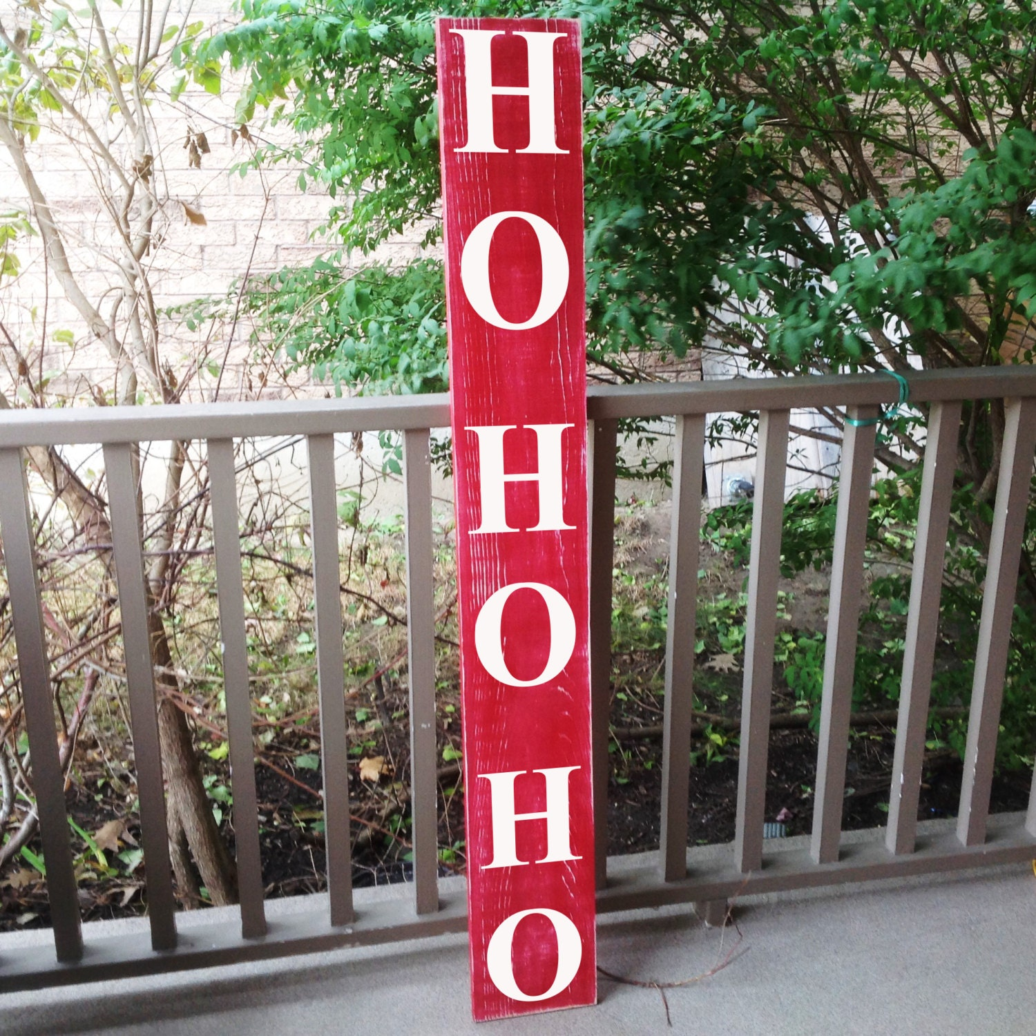vertical outdoor sign front door decor ho ho ho christmas sign custom wood signs welcome sign