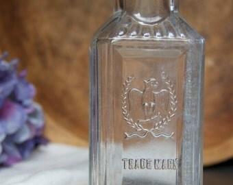 Vintage Gerhart Eagle Trademark Chili Powder Bottle