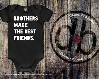 Baby Brother Bodysuit, Baby Bro Tshirt, Big Brother Bodysuit, Big Bro Toddler Tshirt, Brothers Make The Best Friends Infant Bodysuit