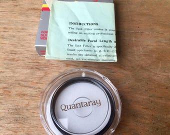Quantaray 49mm Camera Lens Spot Filter