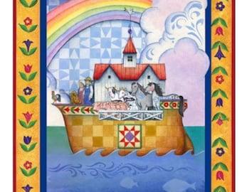 Personalized Jim Shore Noah's Ark Blanket