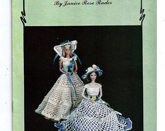 Living Doll Fashions Alphabet Costumes L to P Crochet Pattern Book Fifteen
