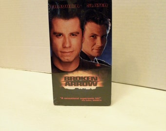 Broken Arrow VHS Video Tape  John Travolta New Factory Sealed