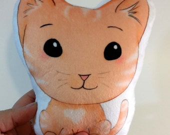 Soft Kitty Pillow Plush