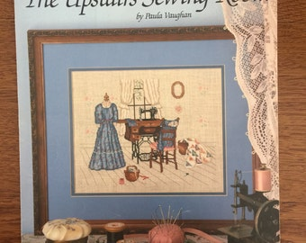 The Upstairs Sewing Room, Counted Cross Stitch Pattern by Paula Vaughan, Crossstich Leaflet 474 Book Four