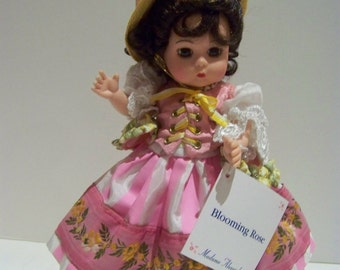 Blooming Rose dark haired Madame Alexander 8 in doll