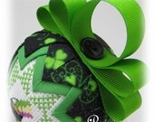 St. Patrick's Day - Quilted Keepsake Ornament - Pot of Gold