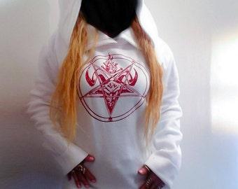 Baal oversized  hooded sweater