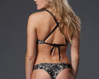 Lace Print Sol Bottoms