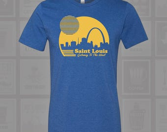 Gateway to the West - STL Arch Tee