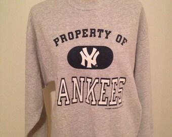 SALE! Vintage New York Yankees Sweatshirt 1996