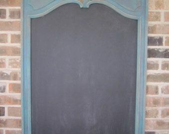Large Antique-Framed Chalkboard
