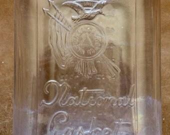 National Casket Co. Large Embalming Fluid Bottle