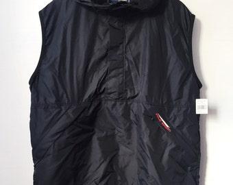 vintage polo sport windbreaker vest men's size XL