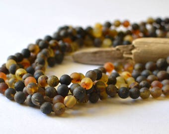 Extra Long Amber Necklace, 90 inches Necklace, Modern Necklace, long necklace beaded, Gift Jewelry, Baltic Amber Jewelry
