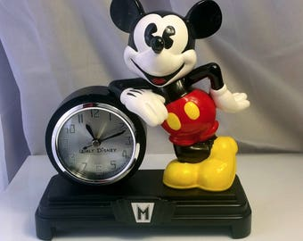 Walt Disney Mickey Mouse Mantle Clock Figure, Walt Disney World