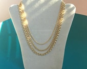 Gold Chain Necklace-Gold ...
