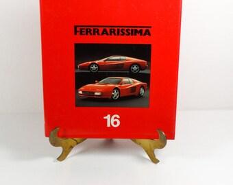 Ferrarissima 16 - 1992 Copy No 216 - Ferrari Vintage Car Collector Advertising Italy