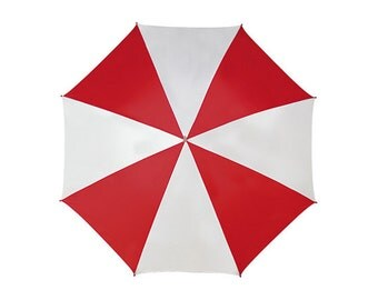 Resident Evil Umbrella Red White Umbrella Corporation