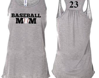 Baseball Mom Shirt, Baseball Mom Tank, Baseball Tank, Baseball Mom Tshirt, baseball, Baseball Mom Tee, Baseball Mom