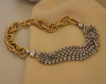 Van Wyck Bijoux choker chain necklace
