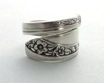 Spoon Ring Queen Mary Starlight Rose 1953