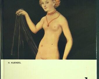 SALE 30% OFF  Vintage art book: Lucas Cranach the Elder, 1979