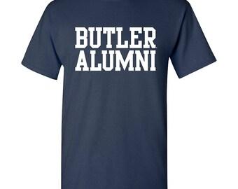 Butler Bulldogs Block Alumni T-Shirt - Navy