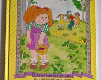 Cabbage Patch Kids: The Shyesy Kid in the Patch by Mark Taylor - Illustrated by Lynn Lace --- Vintage 1980's Children's Story Book Nostalgia