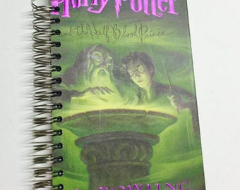 Harry Potter and the Half Blood Prince Repurposed Storybook Cover Planner/Sketchbook/Journal/Notebook