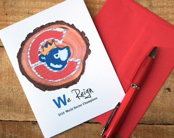 "Shop ""cubs world series"" in Paper & Party Supplies"