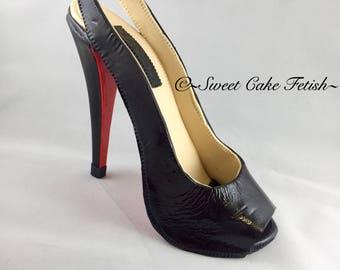 Gumpaste High Heel Shoe/ Cake Topper//sugar shoes/Fondant shoe