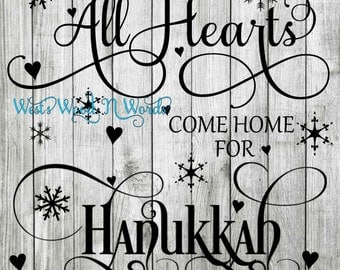 All Hearts Come Home For Hanukkah