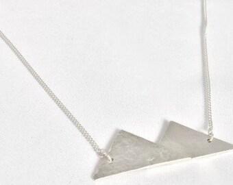 Silver Mountains Necklace