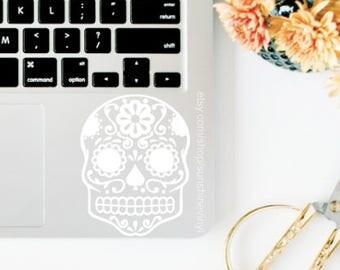 Day of the Dead Skull Dia de los Muertos Decal Sticker
