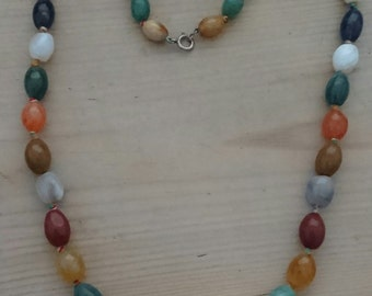 Vintage agate necklace