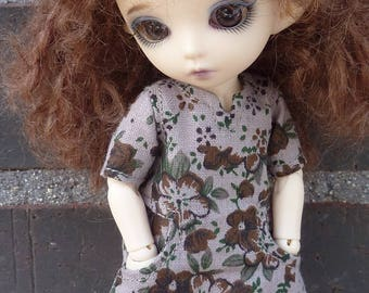 Dress for Lati yellow and Pukifee dolls.