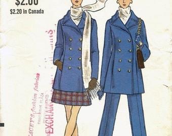 60s Vogue 7666 Misses' Jacket, Skirt and Pants Sewing Pattern UNCUT