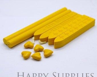 Yellow Sealing Wax for Wax Seal Stamp Set