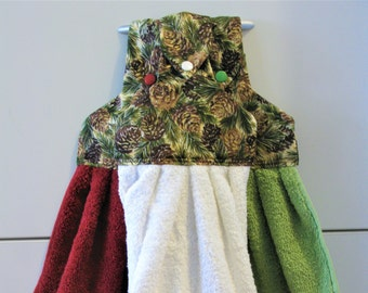 Pinecone Towel Set - Kitchen Towels - Towel Toppers