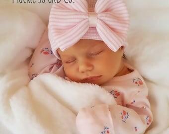 BABY GIRL HAT baby girl newborn hat newborn beanie hospital cap newborn girl newborn hat girl baby newborn