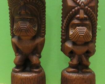 Tiki statue   Etsy