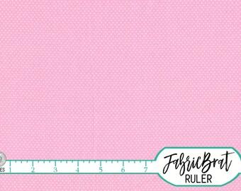 TINY PINK DOT Fabric by the Yard Fat Quarter Light Pink Fabric Polka Dot Fabric 100% Cotton Fabric Quilt Fabric Apparel Fabric Yardage w2-16