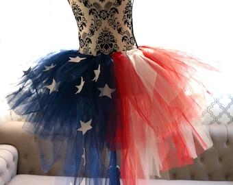 USA Tutu - American Tutu - Forth of July Tutu - Stars and Stripes Tutu