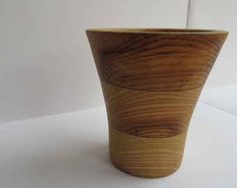 Small Olive Ash Vase