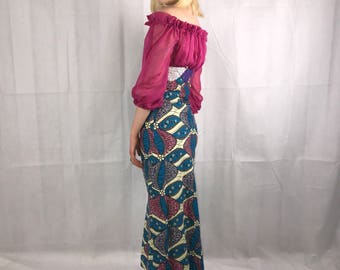 Retro 1960's Evening Dress