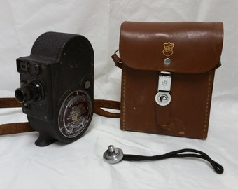 Vintage Bell & Howell Filmo Sportster 8mm Movie Camera