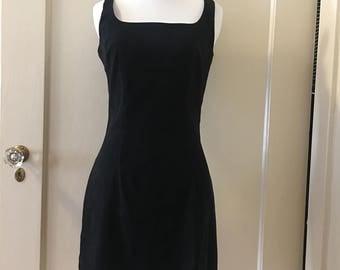 Black Rampage Mini Dress with Slit