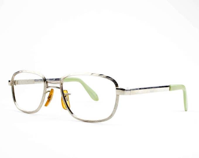 Vintage 60s Glasses   Wavy Browline Eyeglasses   NOS 1960s Eyeglass Frame   Deadstock Eyewear - Waves