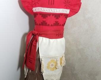 Moana Girls Pinafore dress